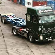 Volvo FH12. Продается сцепка Volvo FH 12+горбатка Korea Trailer HCG-40XJB, 12 130 куб. см., 22 500 кг.