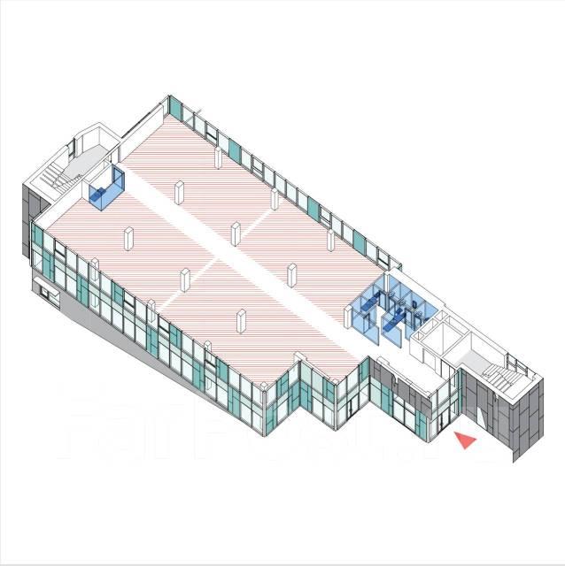 Офисное помещение класса-А в БЦ «H8» (р-н «Черемушки), от собственника. 724кв.м., улица Харьковская 8, р-н Чуркин. План помещения