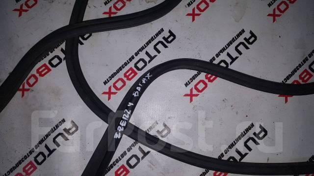 Уплотнитель двери багажника. Toyota Corolla Axio, NZE120, ZZE122 Toyota Corolla Fielder, CE121, CE121G, NZE121, NZE121G, NZE124, NZE124G, ZZE122, ZZE1...