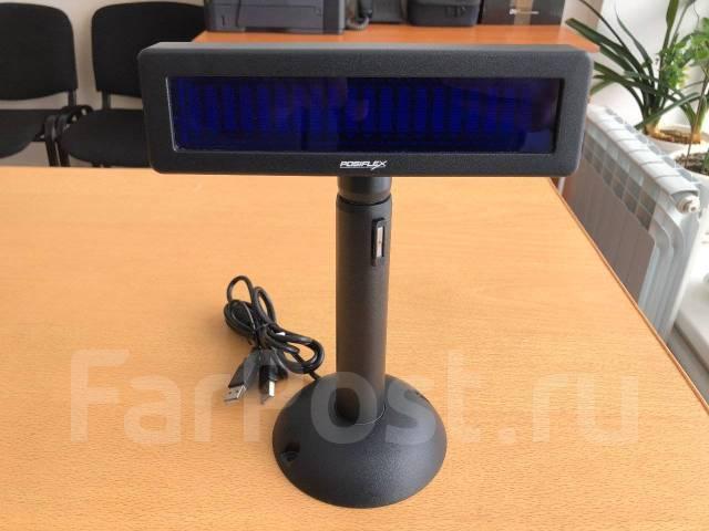 Дисплей покупателя Posiflex PD-2800 (USB), черный