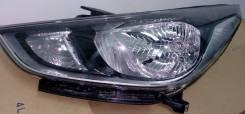 Фара. Hyundai S Hyundai Solaris, HCR Двигатели: G4FC, G4LC