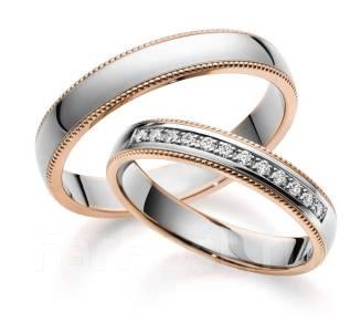 Красивые обручальные кольца с бриллиантами - Ювелирные изделия в ... d190581043a