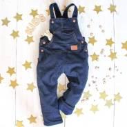 Комбинезоны джинсовые. Рост: 86-92, 92-98, 98-104 см