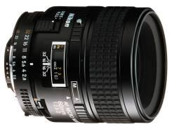 Nikon AF Micro Nikkor 60mm F2.8 D. Для Nikon, диаметр фильтра 62 мм