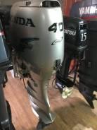 Honda. 40,00л.с., 4-тактный, бензиновый, нога X (635 мм), Год: 2004 год