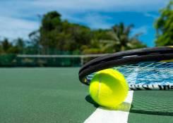 Профессионаяльное строительство теннисного корта