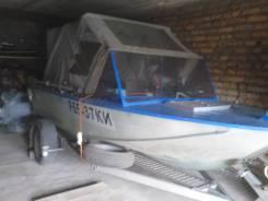 Южанка-2. 1980 год год, длина 4,30м., двигатель подвесной, 40,00л.с., бензин