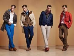 Мужскую одежду и обувь