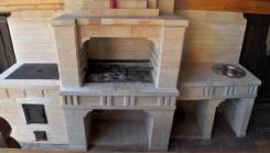 Барбекю мангалы камины печи