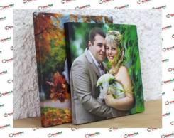 Напечатаем свадебное фото на Холсте во Владивостоке!
