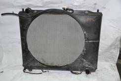 Радиатор охлаждения двигателя. Mitsubishi Pajero, V75W Двигатель 6G74