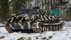 ГТ-Т. грузо-пассажирский, 7-и катковый, 16 000куб. см., 4 000кг., 9 000кг. Под заказ