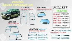 Накладка на порог. Suzuki Escudo, TD52W, TA52W, TD62W, TD32W, TA02W, TD02W, TL52W Suzuki Vitara Suzuki Grand Escudo, TX92W Suzuki Grand Vitara, 3TD62...