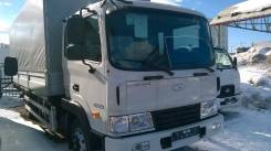 Hyundai HD120. HD-120 DLX фургон бортовой алюминивый с тентом (6.5*2.5*2.3), НАЗ, 5 900куб. см., 6 500кг., 4x2
