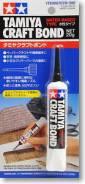 Клей Tamiya Craft Bond (water-based type) 20g. Под заказ