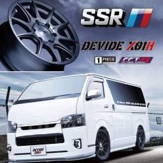 SSR GTX01H R17 6x139.7. 6.5x17, 6x139.70, ET38, ЦО 106,0мм. Под заказ