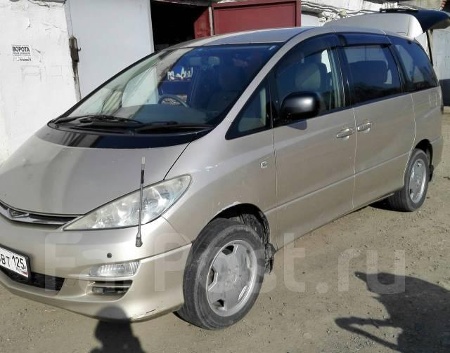 Toyota Estima. автомат, 4wd, 2.4 (160 л.с.), бензин, 195 500 тыс. км