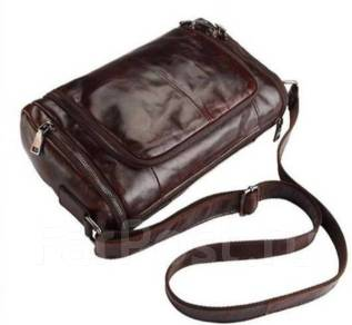 Сумки дорожные. Стильная мужская винтажная дорожная сумка из 100% натуральной  кожи 92e596509d8