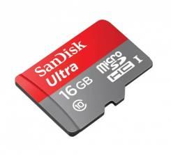 MicroSDXC. 16 Гб