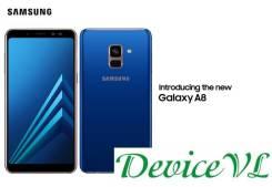 Samsung Galaxy A8 2018. Новый, 32 Гб, Синий, 3G, 4G LTE, Dual-SIM, Защищенный