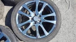 """Продам комплект японских колес 225/45/18 на литьеwork. 7.0x18"""" 5x114.30 ET53"""