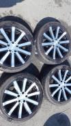 """Продам комплект японских колес 225/45/18 на литьеleasing. 7.5x18"""" 5x114.30 ET42"""