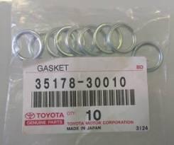Шайба уплотнительная сливной пробки АКПП Toyota Land Cruiser 200, Lexus LX570, Toyota Hilux 3,0 (оригинал)