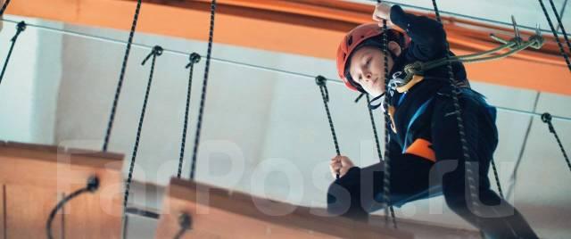 Центр активного отдыха - Скайлаз: скалодром, верёвочный парк, лабиринт