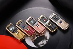 Vertu. Новый, до 8 Гб, Зеленый, Dual-SIM, Кнопочный