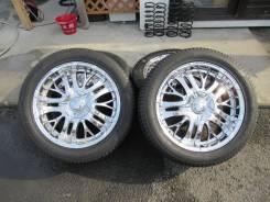 """Красивые колеса Buddy BOND с резиной 275/45R20. 8.5x20"""" 6x139.70 ET10 ЦО 108,0мм."""