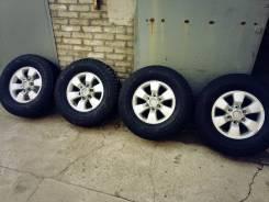 "265/70R16 колеса в сборе на любой джип, Dunlop SJ7, на пять с минусом. 7.0x16"" 6x139.70 ET26"