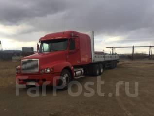Freightliner Century. Продаётся Фредлайнер с бортовым п/полуприцепом Шмитс, 12 700 куб. см., 10 т и больше