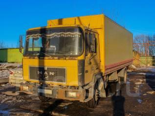 MAN 14. Грузовой фургон .272 4х2 1994 года, 6 871куб. см., 6 935кг., 4x2
