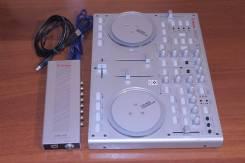 Котроллер DJ USB Controller Vestax VCI-100 с звуковой картой VAI-40