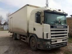Scania R. 124 L Скания / Одиночка / Термобудка, 11 000 куб. см., 10 000 кг.