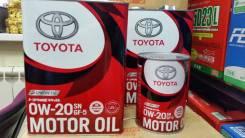 Toyota. 0W20, синтетическое
