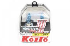 Лампа H3C 12V 55W (100W)-2шт пласт уп Koito P0753W