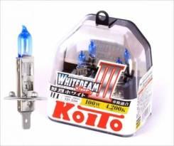 Лампа Н3 12v55w (100W) 2шт Koito P0752W