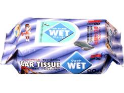 """Салфетки влажные """"Soft99 Wet Tissue"""" универсальные 04126 (80шт)"""