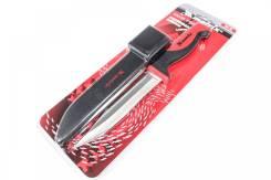 Нож рыбака, 150мм,двухком.рукоят.,пластиков.ножны М79116/Matrix