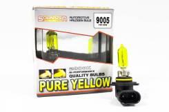 Комплект ламп галогенных Solarzen HB3(9005) 12V65W P/У,желтое напыление HB3 (9005) 12V65W P/Y