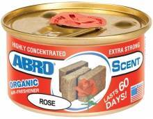"Ароматизатор воздуха на панель органический ""ABRO Scent"" AS-560-RO Роза"