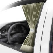 """Комплект штор """"Autoland Frenzo Contrast"""" 1703339-566BE 2шт, L, 60см, бежевый, левый"""