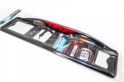 Подсветка номера Премиум с автостопом (черная)
