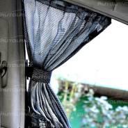 "Комплект штор ""Autoland CARBON"" 1701336-269SL(301-06) сетчатые, 2шт, LL, 60см, карбон"