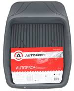 """Коврик """"AUTOPROFI"""" MAT-150f GY универсальная ванночка для переднего ряда, ПВХ, 1шт, 69х48см, серый"""