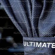 """Комплект штор """"Autoland ULTIMATE"""" 1701332-263BK сетчатые, 2шт, S, 60см, черный"""