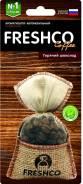 """Ароматизатор воздуха подвесной мешочек """"Freshco Coffee пакет"""" AR1FC202 Горячий шоколад"""