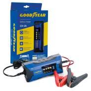Электронное зарядное устройство Goodyear для свинцово-кислотных аккумуляторов CH-2A GY003000