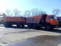 КамАЗ 65115. Продается с прицепом Нефаз-8560-02, 10 850 куб. см., 10 т и больше